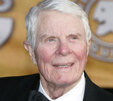 Peter Graves died of an apparent heart attack outside his Los Angeles home. Photo: Getty Images