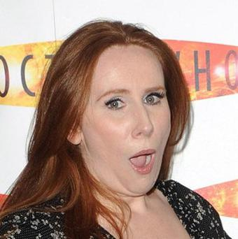 Police investigate claims that comedian Catherine Tate was targeted by a poison pen letter writer