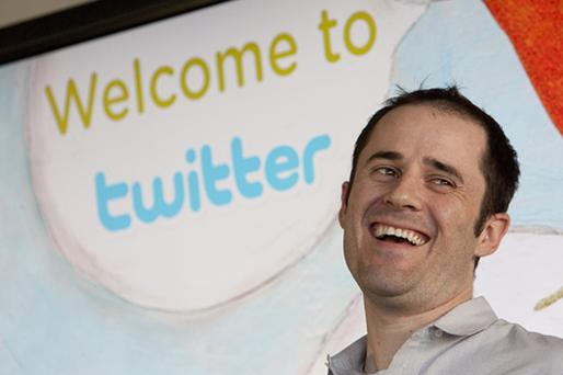 CEO of Twitter Evan Williams. Photo: Getty Images