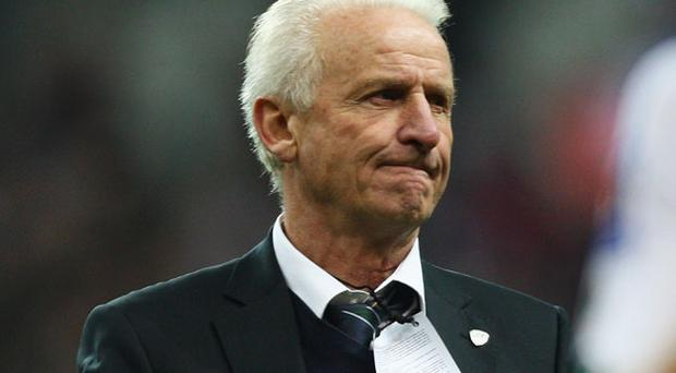 Ireland Manager Giovanni Trapattoni predicted there would be difficulties with the arrangement of fixtures Photo: Getty Images