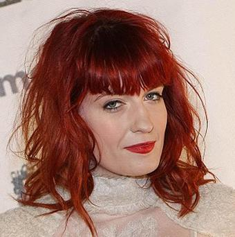Florence Welch tried to use a hotel wall as a bass drum