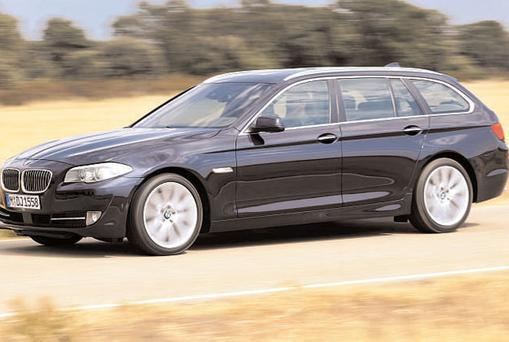 Shoppers will be happy to hear the boot capacity of the new BMW 5-series Touring is 560 litres, 60 more than the outgoing model.