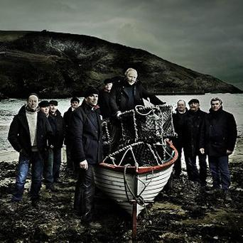 The group of fishermen are aiming to sail to the top of the charts