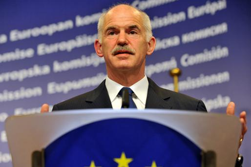 Greek Prime Minister George Papandreou Photo: Getty Images