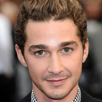 Shia LaBeouf has talked about his romance with Carey Mulligan