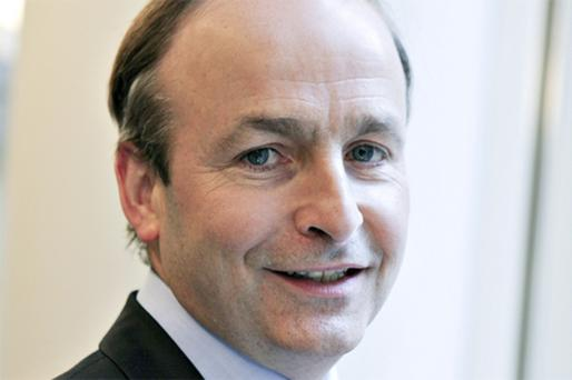 Foreign Minister Micheal Martin. Photo: Bloomberg News