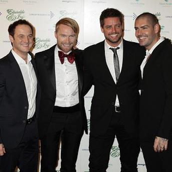Boyzone are toasting Stephen Gately's memory