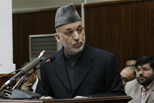 Afghan President Hamid Karzai visited Pakistan at the weekend