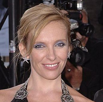 Toni Collette travels with her family to movie and TV sets
