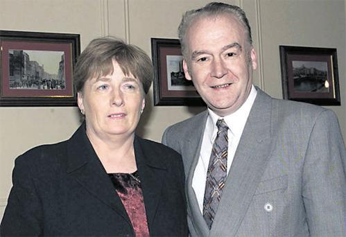 Victim Therese Moore and husband Tommy