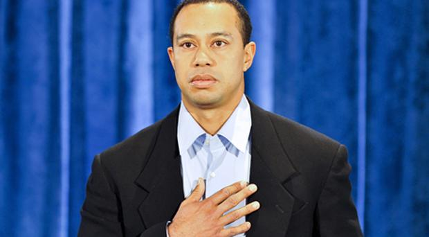 In February Tiger Woods publicly admitted to cheating on his wife Elin Nordegren. Photo: Getty Images