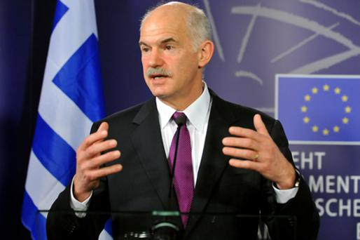 Greek Prime Minister George Papandreou. Photo: Getty Images