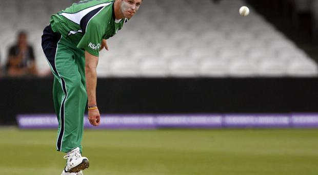 Boyd Rankin is fit to take part in Ireland's ICC World Twenty20. Photo: Getty Images