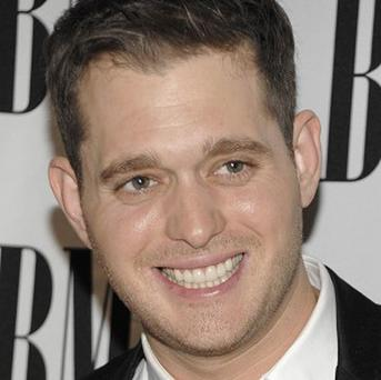 Michael Buble needs to keep a clear head when he's performing
