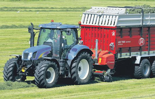DOUBLE DELIGHT: Lely Ireland is to make available the Tigo R and the R Profi models.