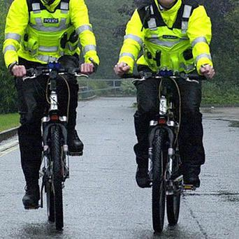 Police banned from riding mountain bikes unless they have received 10 hours of training