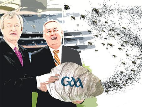 Paraic Duffy and Christy Cooney may get more than they bargained for when it comes to the issue of paying managers