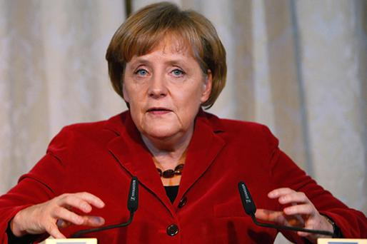 Chancellor Angela Merkel is grappling with the thorny problem of Greece