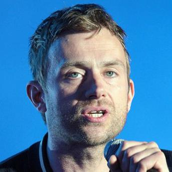 A charity wants Damon Albarn to be prosecuted for smoking on stage