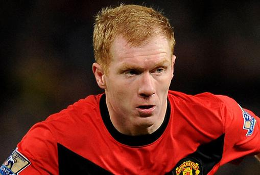 Paul Scholes is convinced Manchester United can win all their remaining seven games. Photo: Getty Images