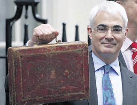 Alistair Darling, Britain's chancellor of the exchequer, delivered his budget yesterday.