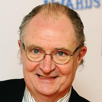 Jim Broadbent played a drug user for the first time in Perrier's Bounty