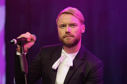 Ronan Keating performed at the Grand Canal Theatre. Photo: Getty Images