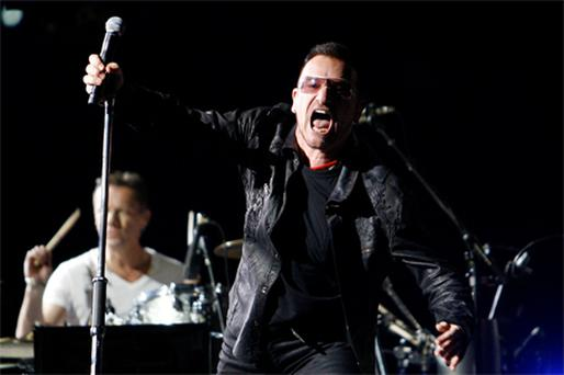 Dr Marsh began the study by examining the way fans of U2 interact with the band. Photo: Reuters