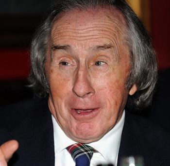 Sir Jackie Stewart was not involved in a supercar crash, his spokesman said