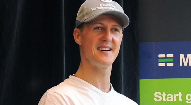 Schumacher: teething troubles. Photo: Getty Images