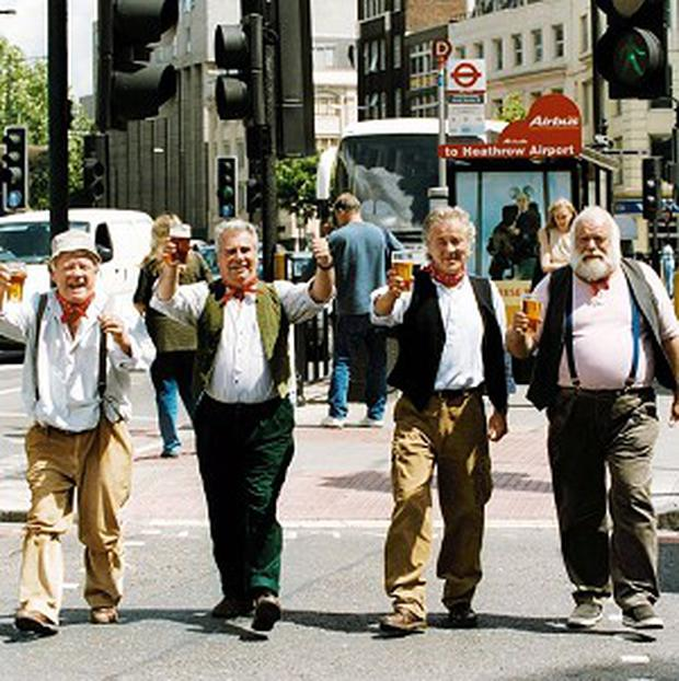 The Wurzels' hit I'm A Cider Drinker could top the charts