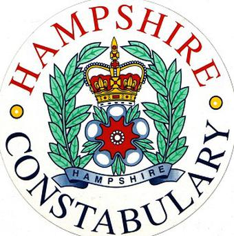 Hampshire Police said sorry to a family after smashing their door in a mistaken raid