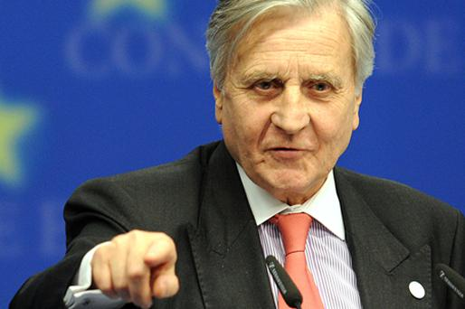 European Central Bank President Jean-Claude Trichet told reporters in Brussels late on Thursday that he was