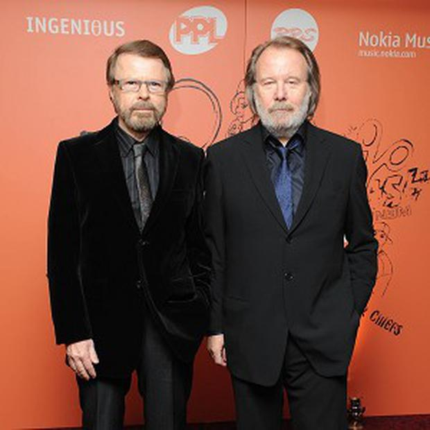 Benny Andersson (right) and Bjorn Ulvaeus have hinted at reunion of Abba