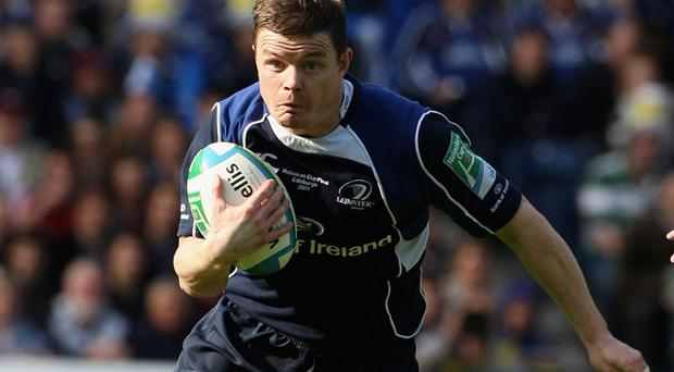 Brian O'Driscoll will not be playing for Leinster. Photo: Getty Images