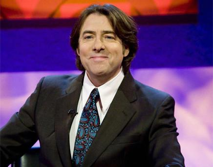 Jonathan Ross has poked fun at his successor Claudia Winkleman. Photo: PA