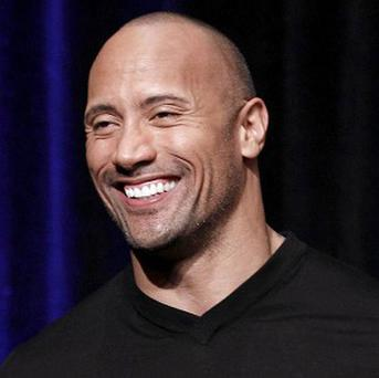 Dwayne 'The Rock' Johnson is having a great time shooting Faster