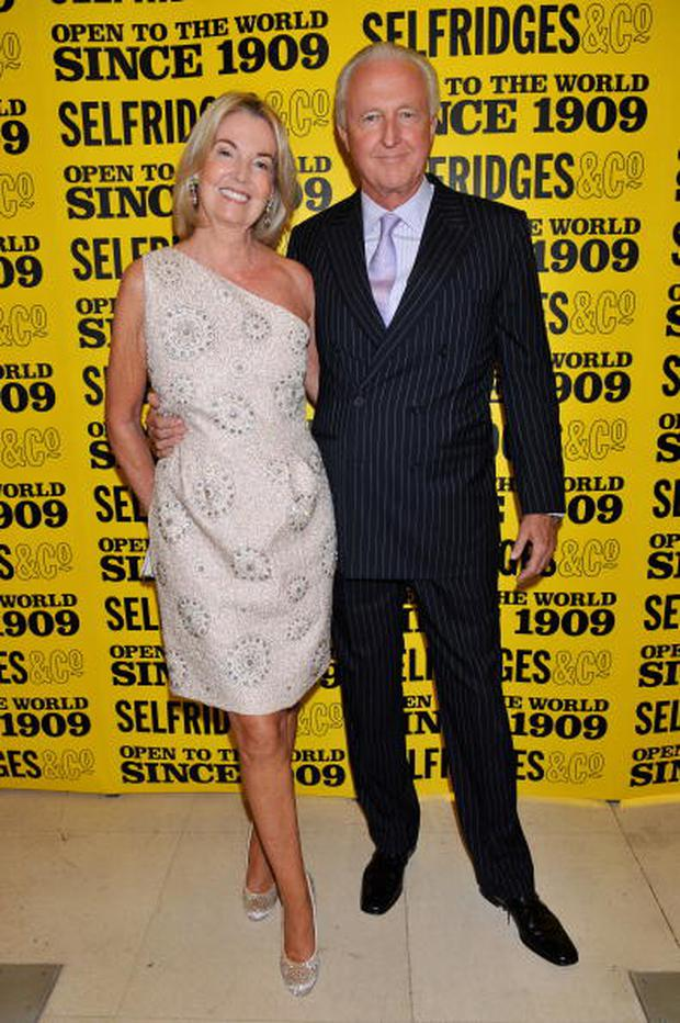 LONDON - APRIL 30: Hilary Weston and Galen Weston attend Selfridges' 100th birthday party at Selfridges on April 30, 2009 in London, England. (Photo by Nick Harvey/WireImage)