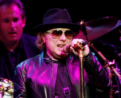 LOS ANGELES, CA - MAY 7: Singer/songwriter Van Morrison performs at the Orpheum Theater May 7, 2009 in Los Angeles, California. (Photo by Kevin Winter/Getty Images)