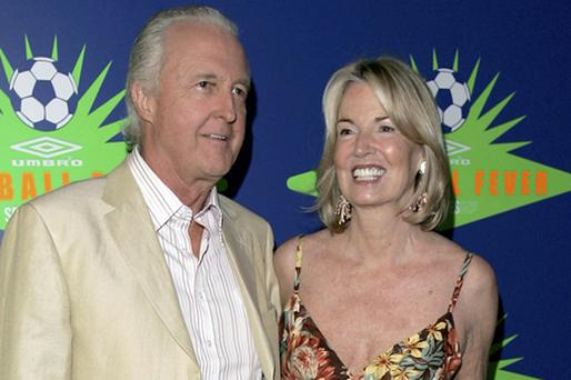 Hilary and Galen Weston are third on the Rich List with a fortune of €3.67bn. Photo: Getty Images