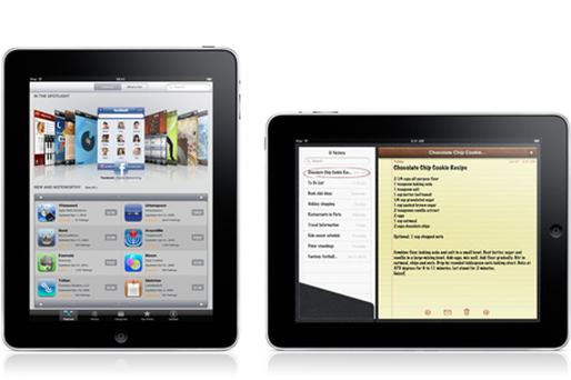 iPad: hundreds of apps approved. Photo: Apple