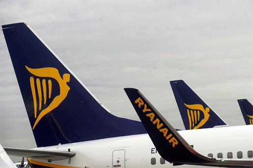 Ryanair has leased BA three aircraft in the past month. Photo: Bloomberg News