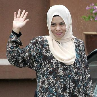 Malaysian Muslim model Kartika Sari Dewi Shukarno, 33, who has been given a reprieve after being sentenced to a caning