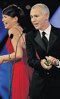 Ray D'Arcy: spent five years as host of the Rose of Tralee