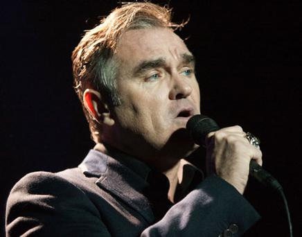 FASCINATING: Morrissey did a brilliant interview with artist Linder SterlingPhoto: Getty Images