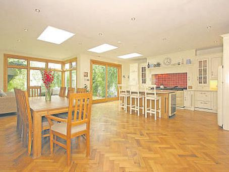 Five-bedroom, detached family home
