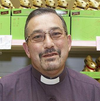 Shop assistant-turned priest Rev Peter Mallinson