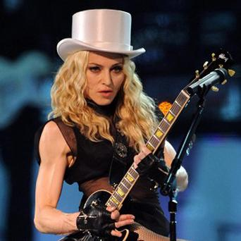 Madonna has been revealed to be the most played artist of the past decade
