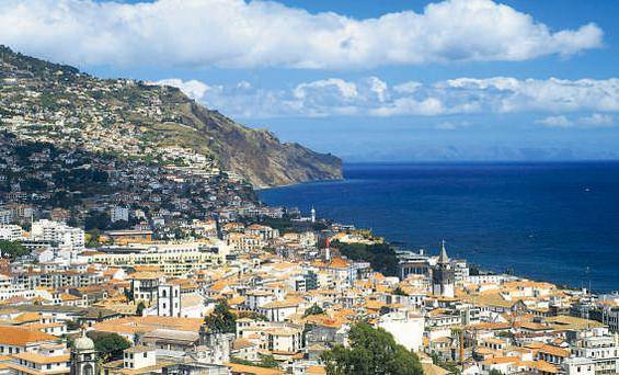 Main Funchal, capital of Madeira