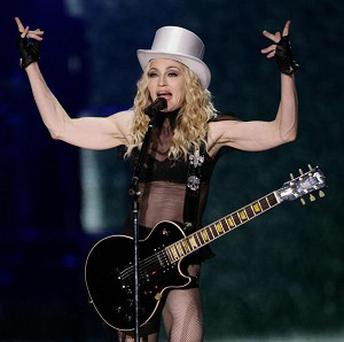 Madonna is the most played artist of the decade